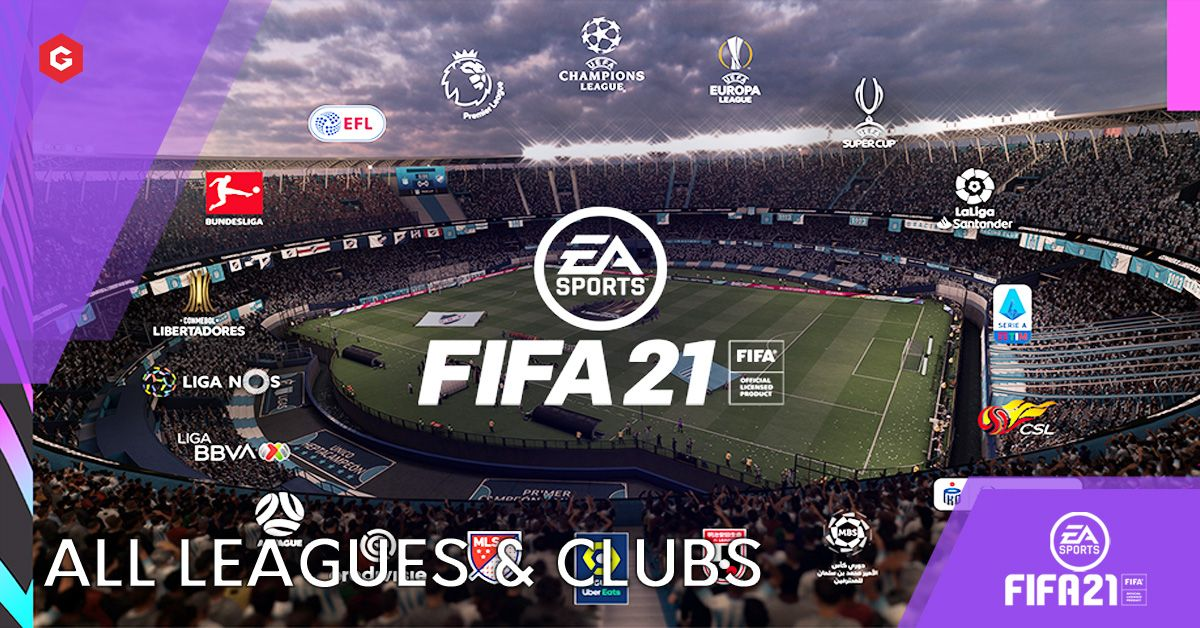 Fifa 21 Every League And Club In The New Game