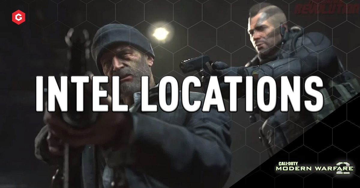 Mw2 Campaign Remastered All Intel Locations Walkthrough