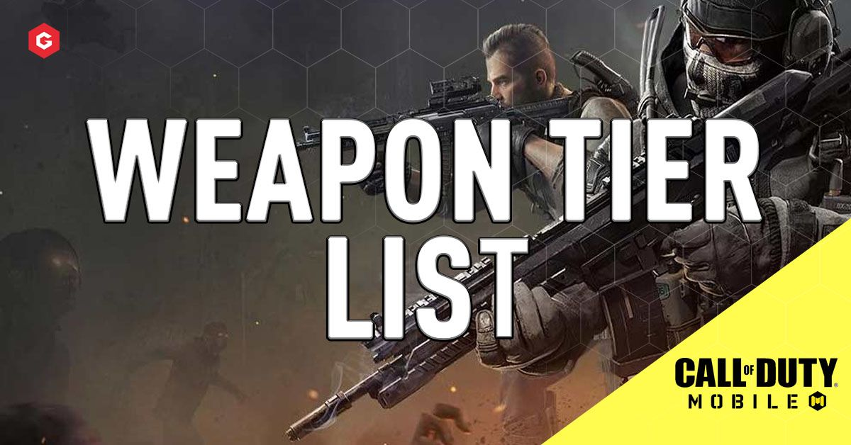 Cod Mobile Season 8 Weapon Tier List Best Weapons