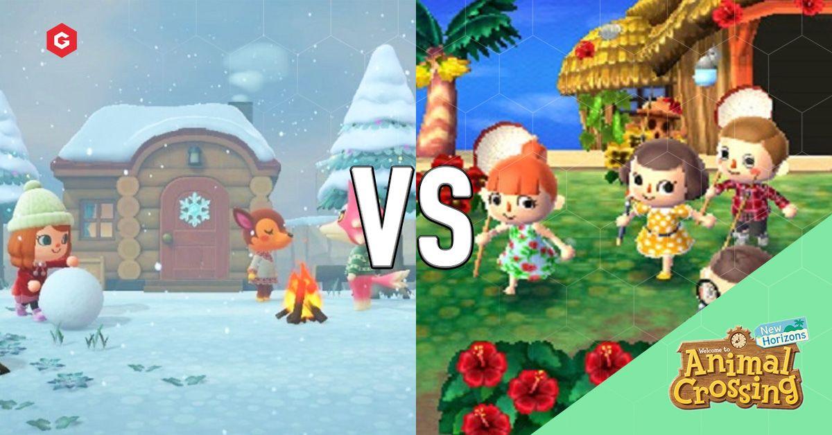 Animal Crossing New Horizons Vs New Leaf