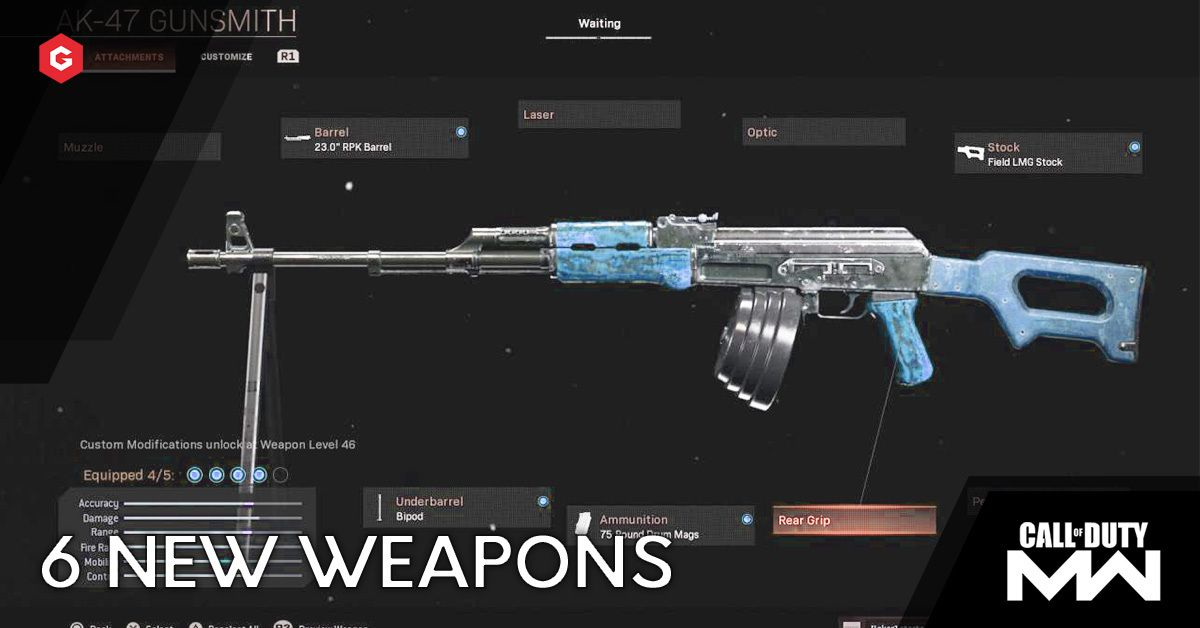 Warzone Season 4 Weapons News Word