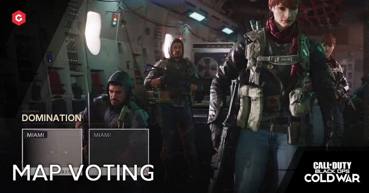 Black Ops Cold War Map Voting Returns