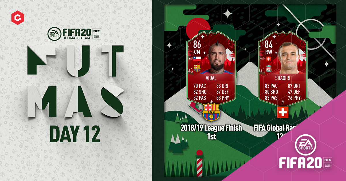 Fifa 20 Ultimate Team Futmas Day 12 Vidal Shaqiri Sbc Requirements And Analysis
