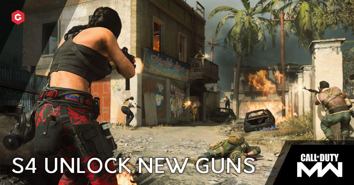 Modern Warfare Warzone Season 4 How To Unlock The Fennec And Cr