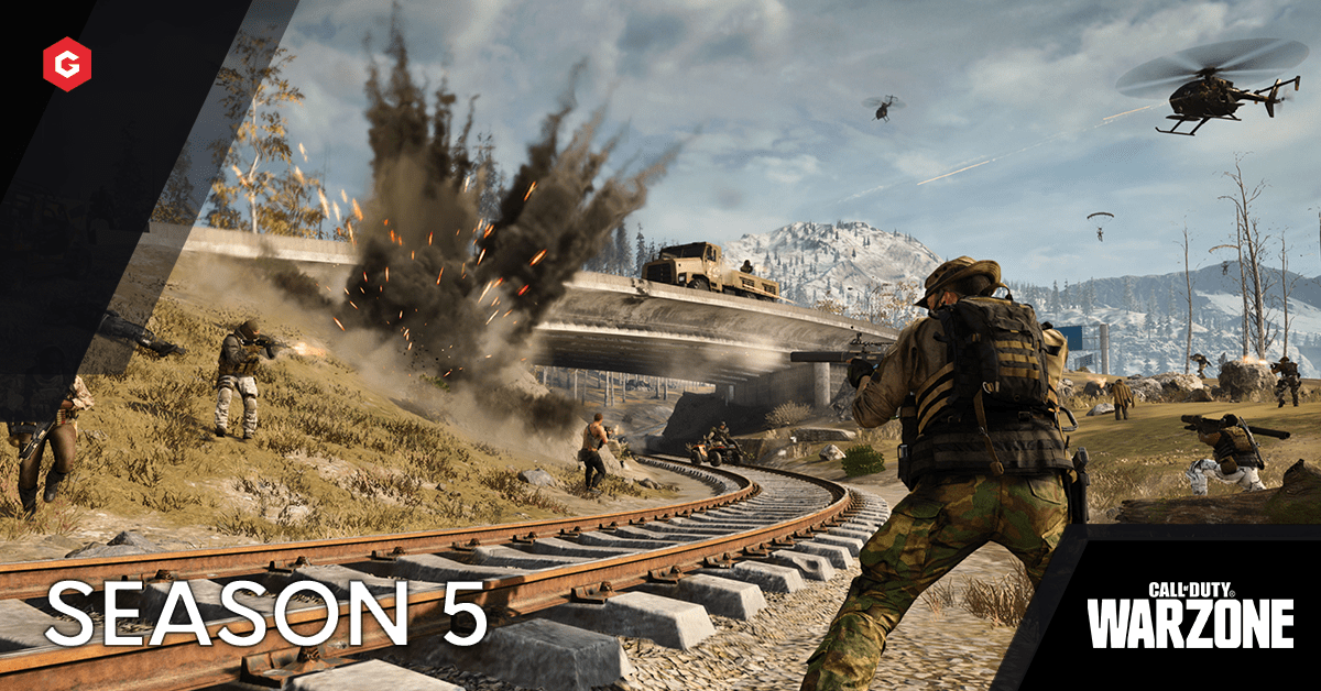 Call Of Duty New Warzone Season 5 Patch Adds Ziplines A Moving