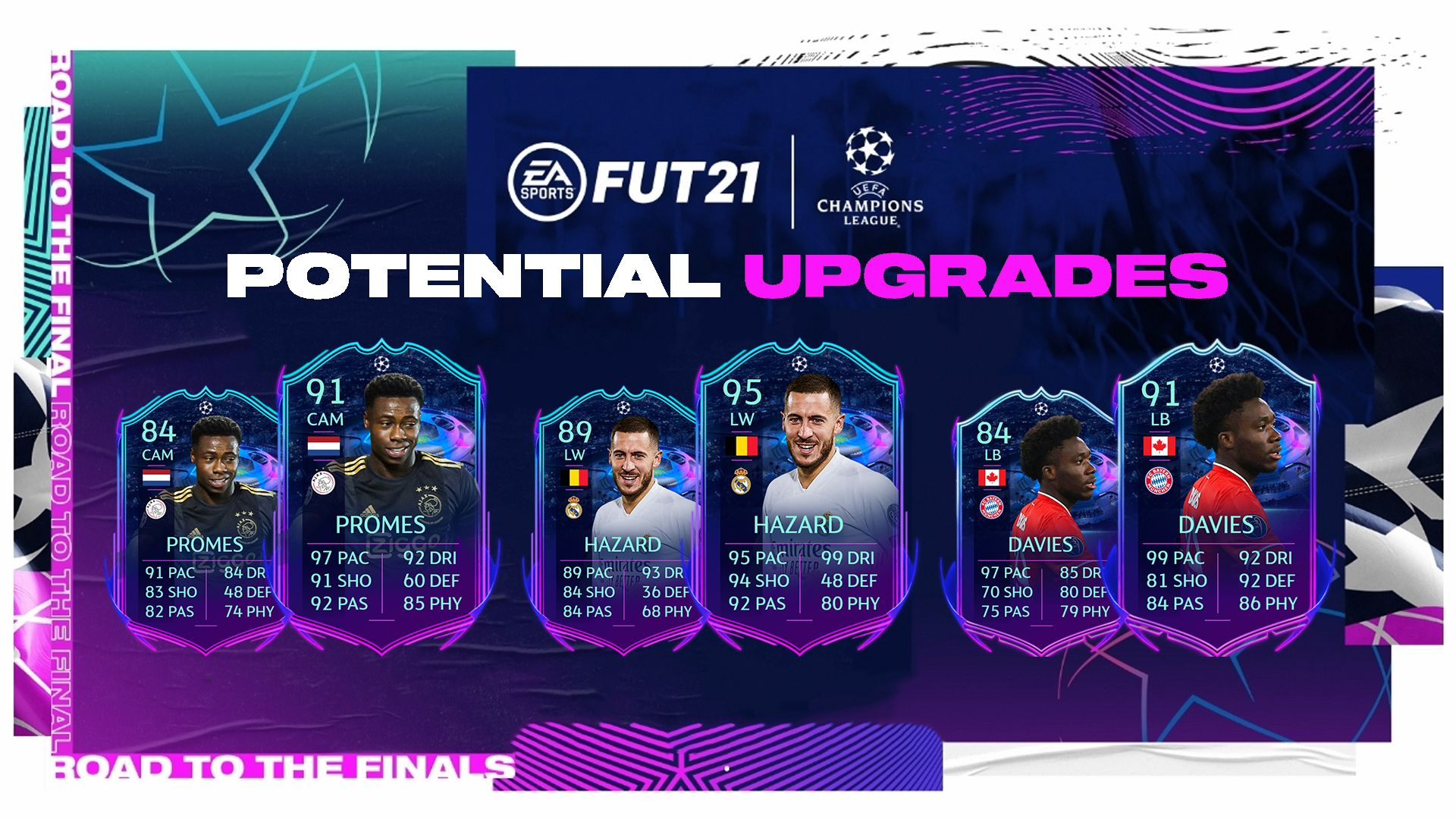 fifa 21 ucl road to the final upgrades how they work potential upgrades for rttf fifa 21 ucl road to the final upgrades