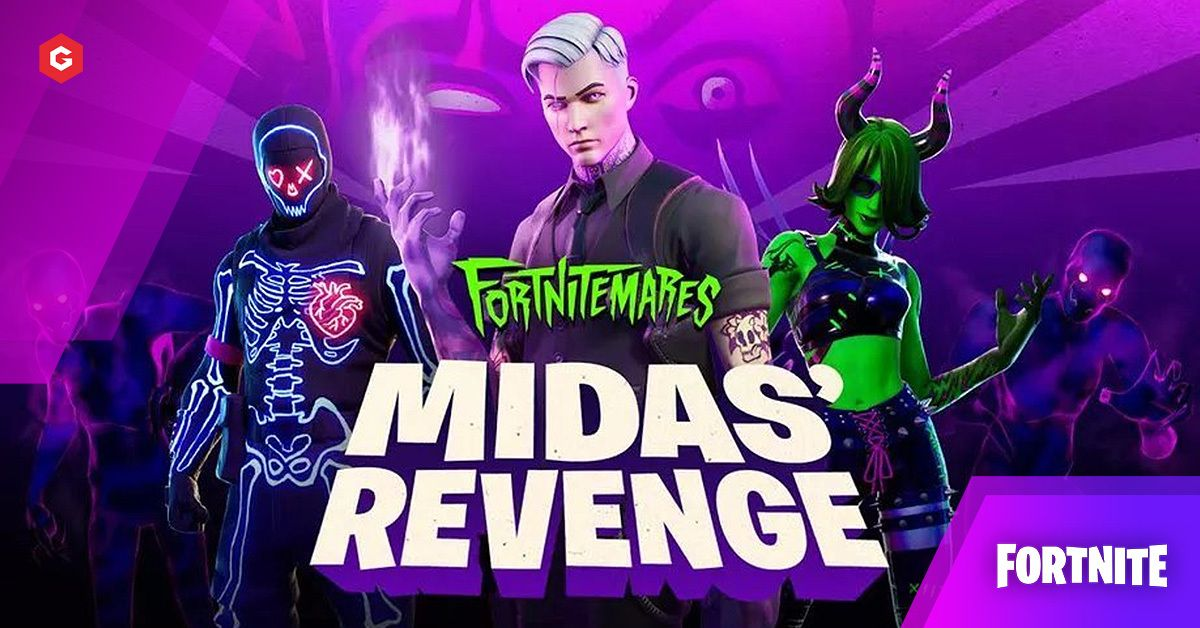 Fortnitemares Midas Revenge Leaks 14 40 Update Patch Notes Boss Skins Date Trailer Leaked Skins Item Shop