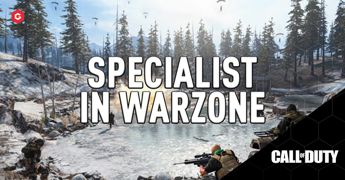 Call Of Duty Warzone Does The Specialist Perk Work In Battle Royale Or Only In Multiplayer