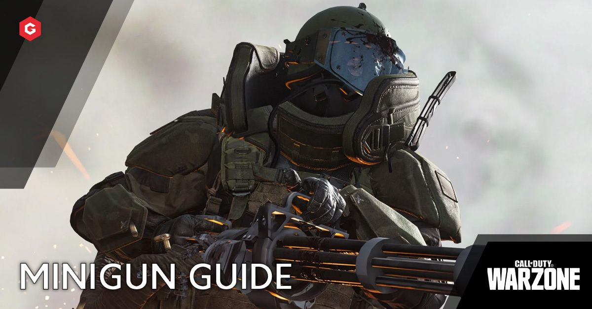 Warzone Season 4 How To Get The Minigun In Call Of Duty Warzone