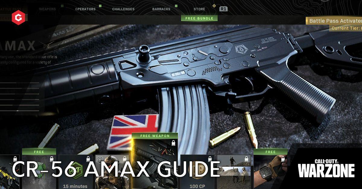 Modern Warfare Season 5 Cr 56 Amax Setup Guide And Best