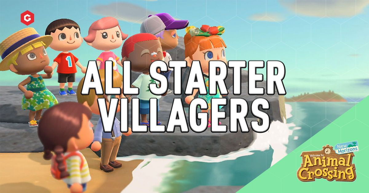 Animal Crossing New Horizons All Potential Starter Villagers