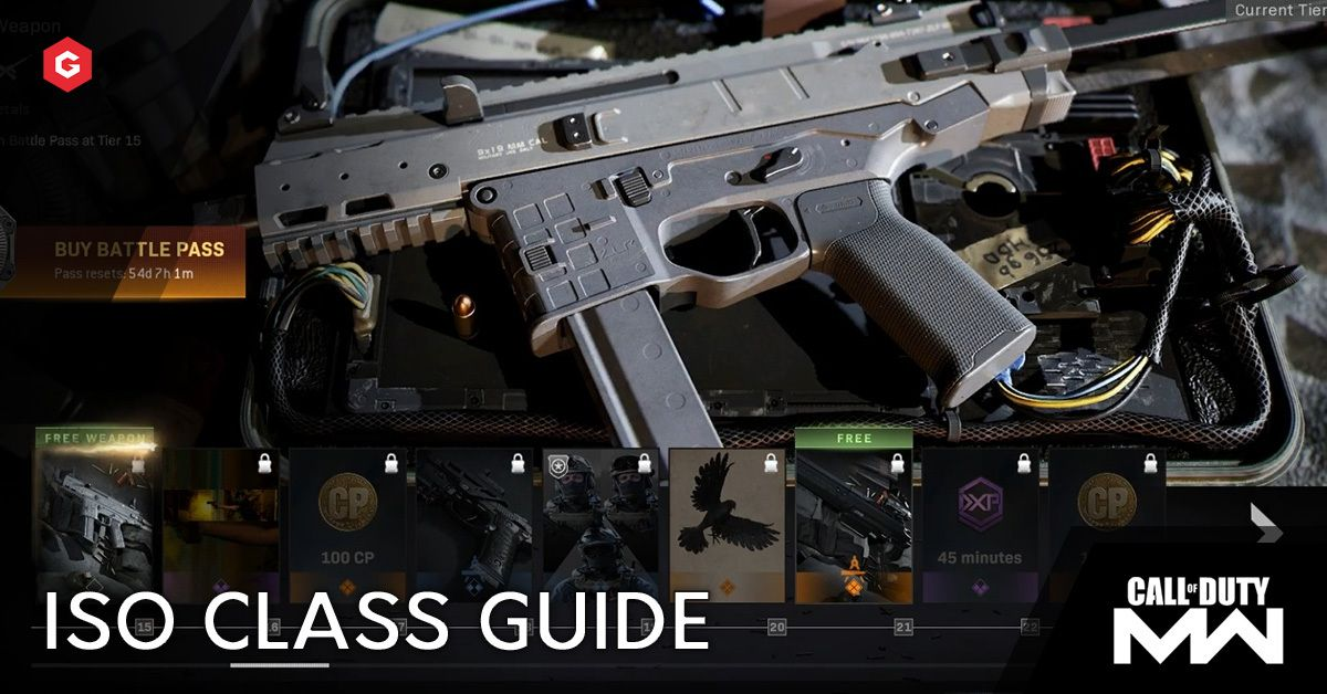 Modern Warfare Season 5 Iso Smg Setup And Best Attachments For