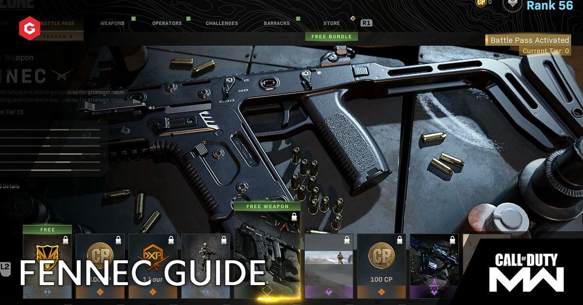 Modern Warfare Season 5 Fennec Setup Guide And Best Attachments