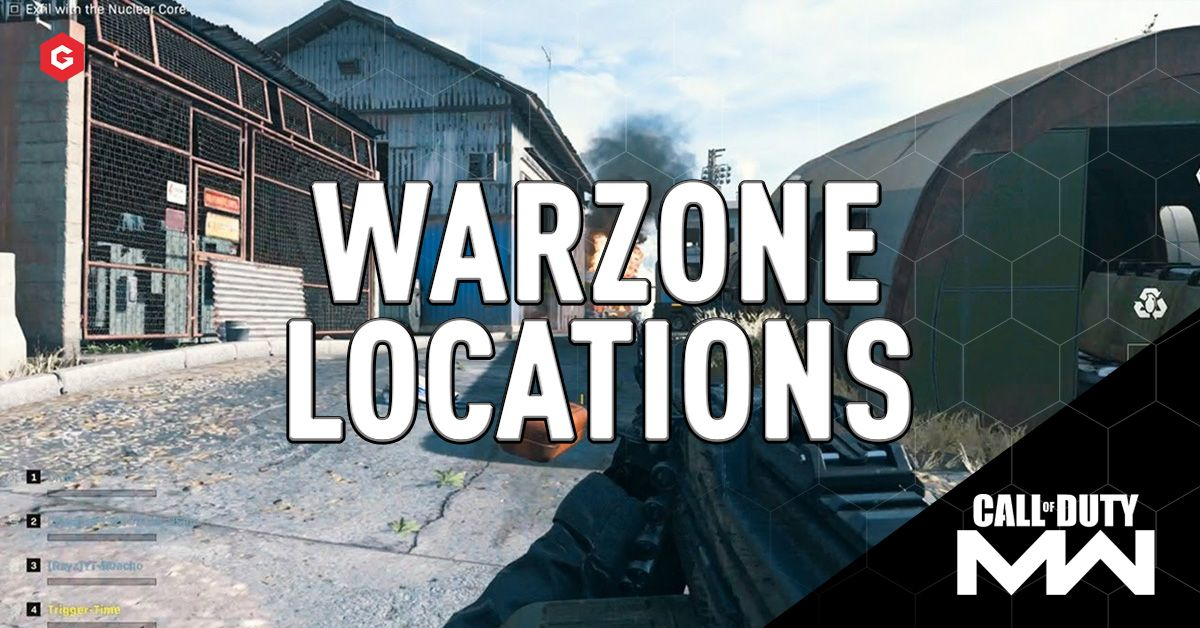 Call Of Duty Warzone All Confirmed Locations And Pois In Modern