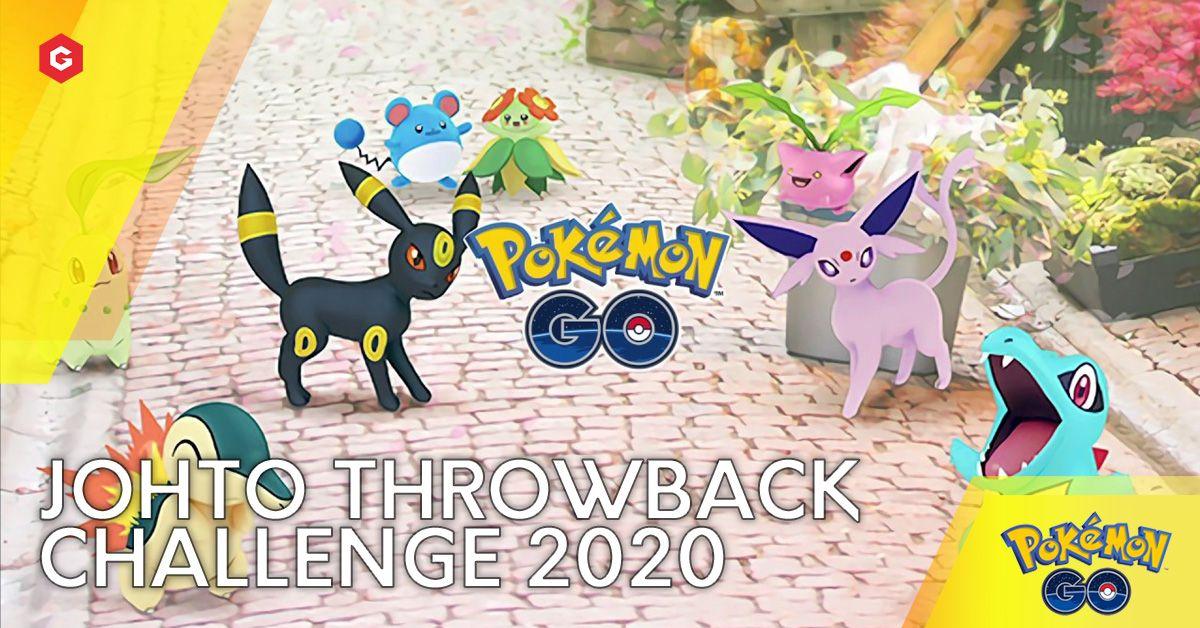Pokemon Go Johto Throwback Challenge 2020 Guide Dates Schedule