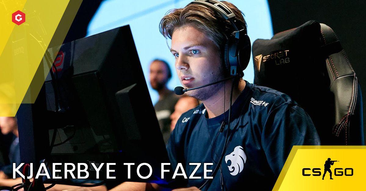 Faze Clan Csgo Rumored To Be Replacing Bymas For Kjaerbye