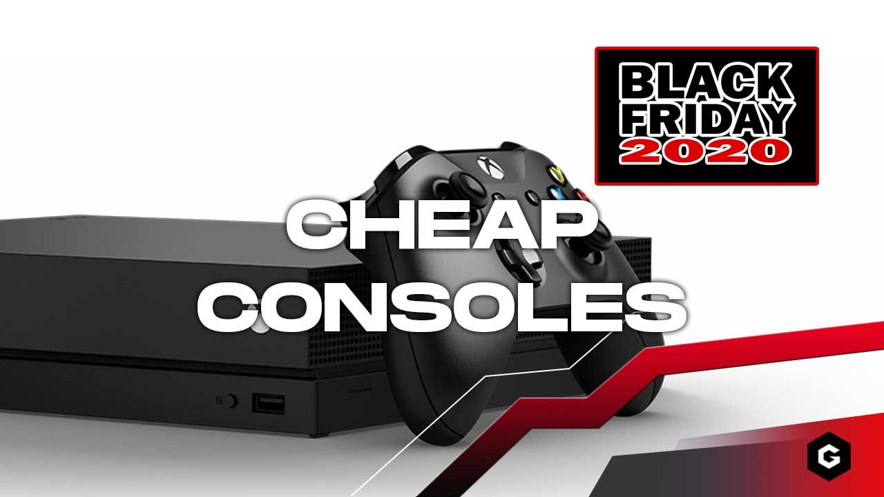 Cheap Consoles Black Friday 2020 Nintendo Switch Ps4 Pro Xbox One S And More