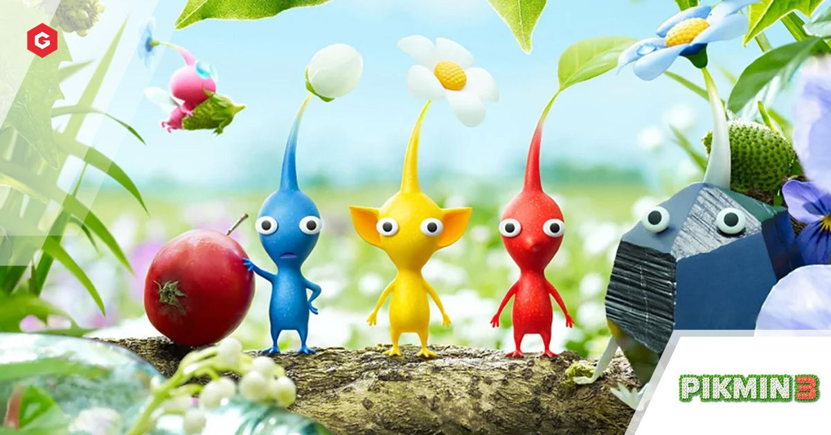 Pikmin 3 Deluxe Edition Release Date Trailer Pre Order Dlc Multiplayer What S New Side Story Missions