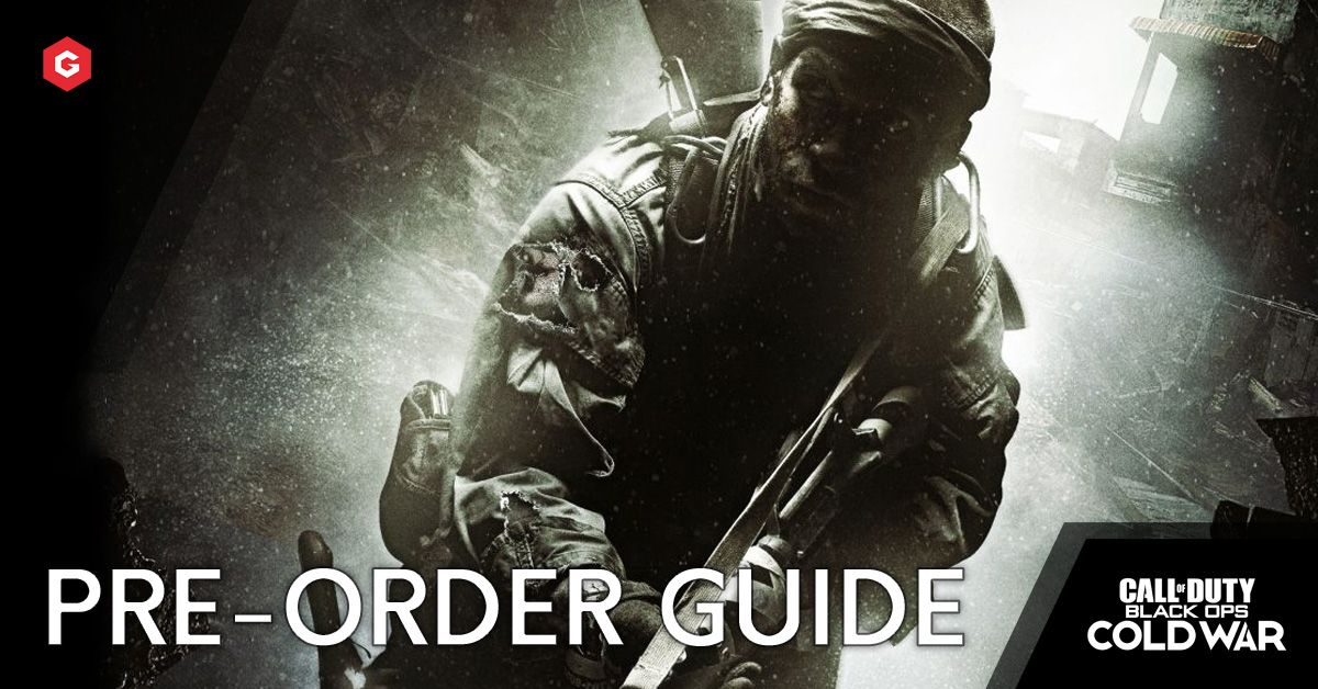 Black Ops Cold War Pre Order Guide Release Dates Price Editions Bonuses Best Places To Buy And Everything We Know