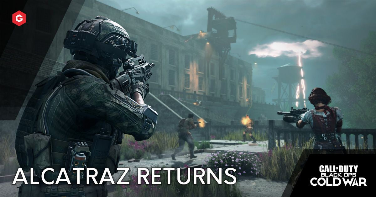 Black Ops Cold War Warzone Leaks Alcatraz Returning As The New Gulag