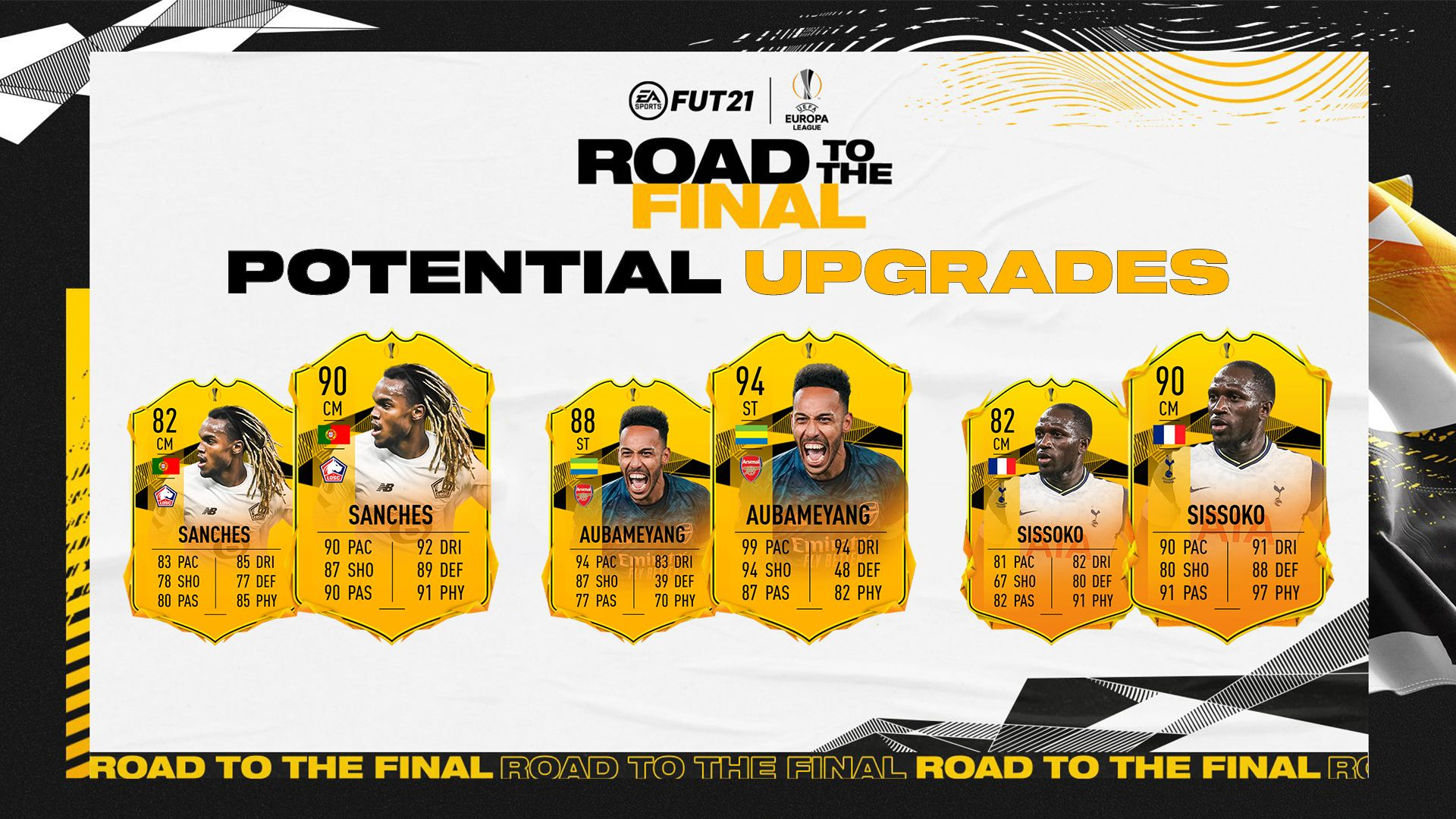 fifa 21 europa league road to the final upgrades how they work potential upgrades for fifa 21 europa league road to the final