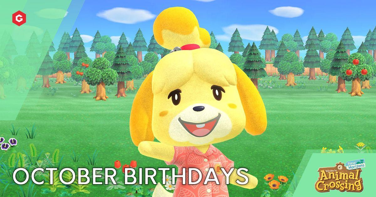 animal crossing villagers birthdays may