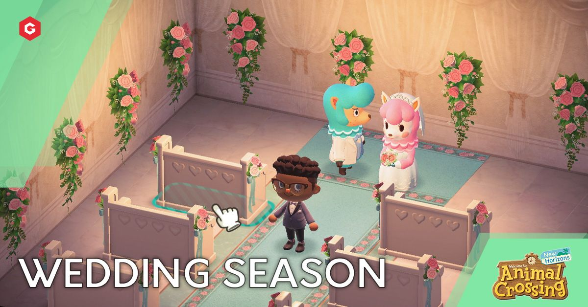 Animal Crossing New Horizons Wedding Season Live News Dates Rewards Characters And More