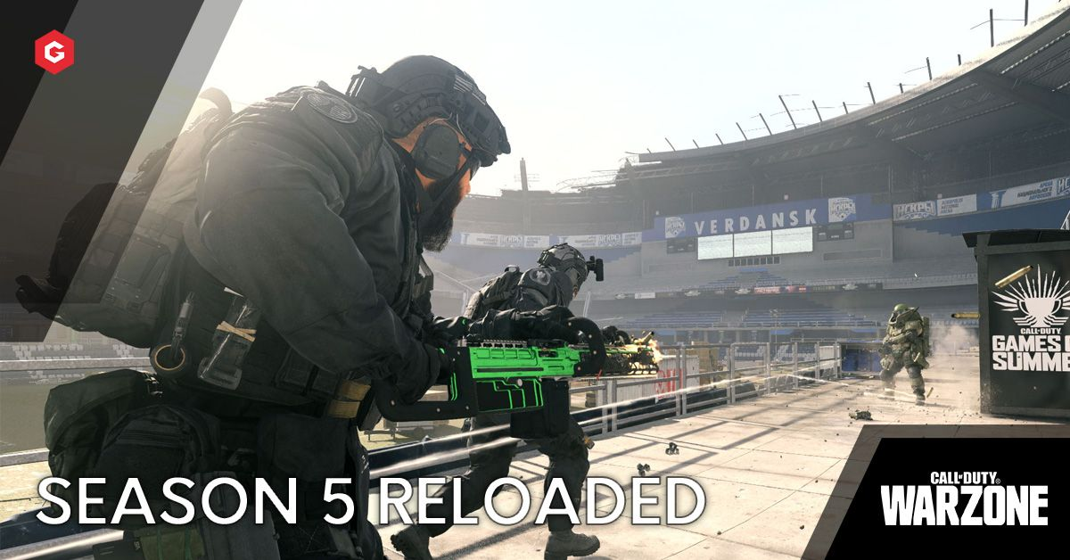 Warzone Season 5 Reloaded Live Release Date 1 27 Patch Notes Games Of Summer Road Map Weapons