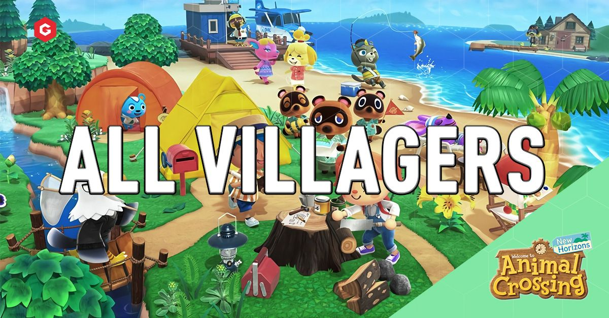 Animal Crossing New Horizons All Villagers And Characters Confirmed
