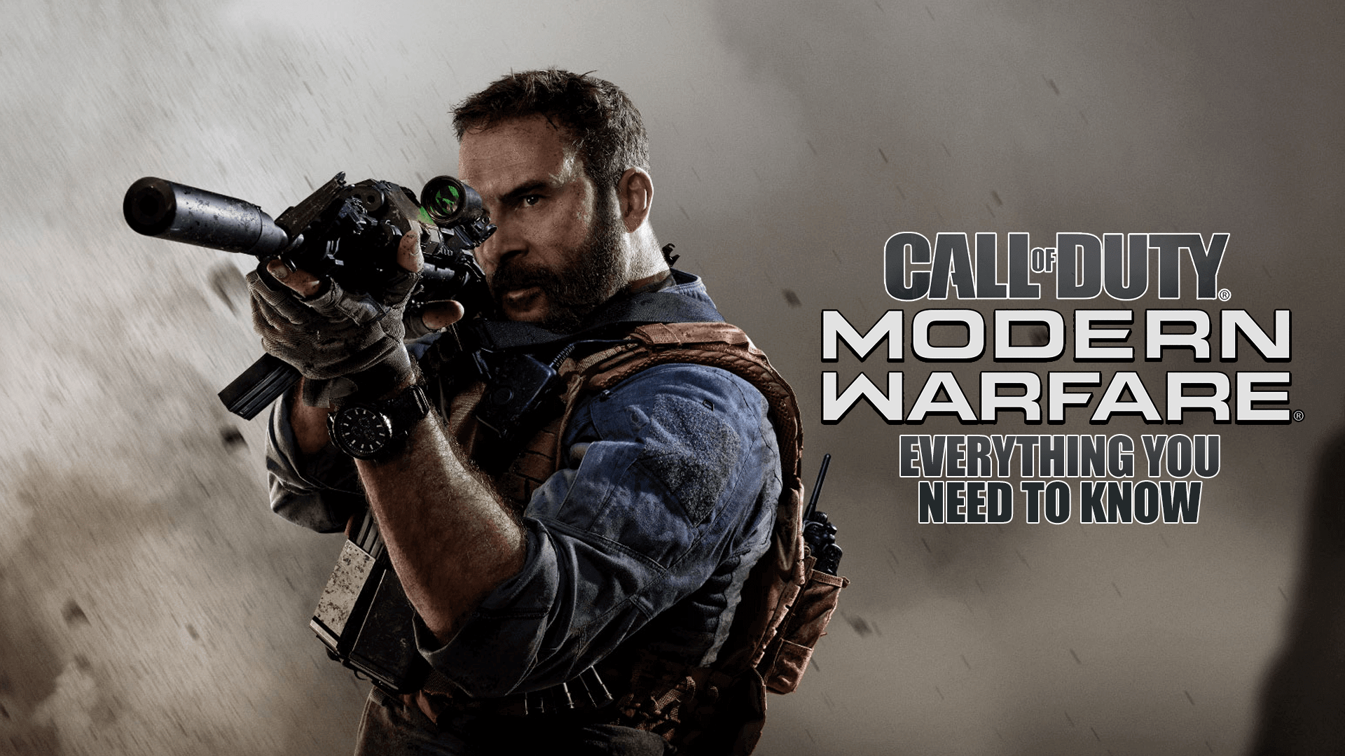 Call Of Duty Modern Warfare 2019 Absolutely Everything You Need