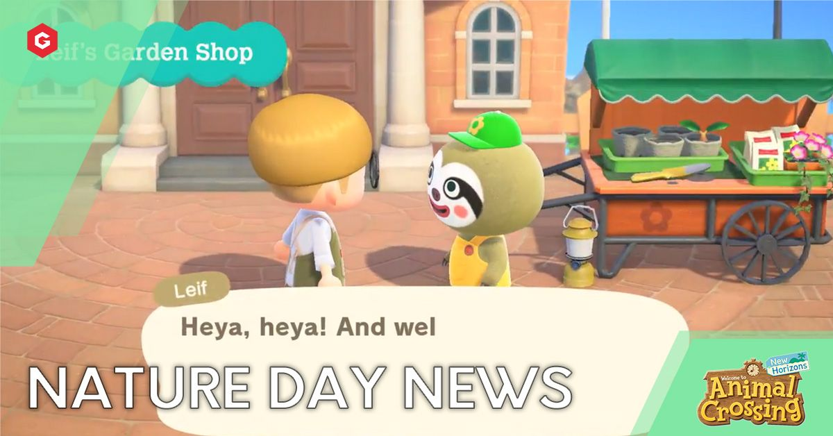 Animal Crossing New Horizons Nature Day News Dates Rewards Characters And More For Earth Day