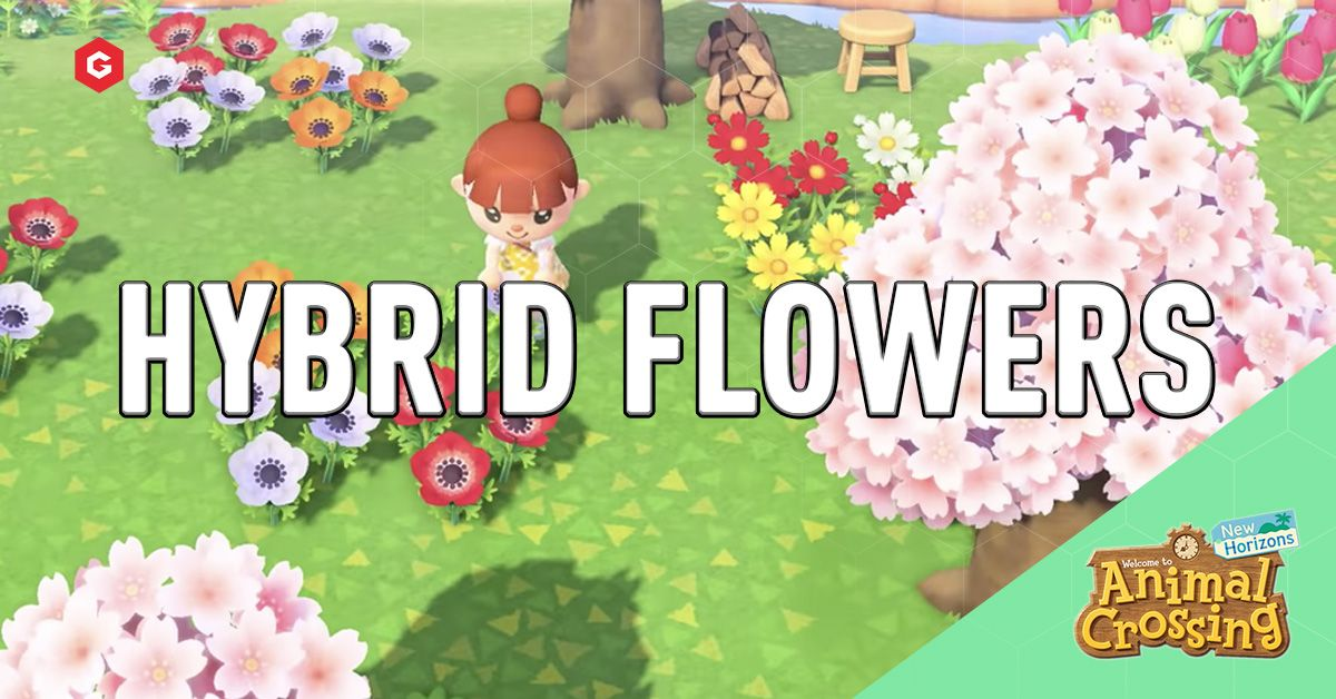 Animal Crossing New Horizons Hybrid Flower Guide How To Make