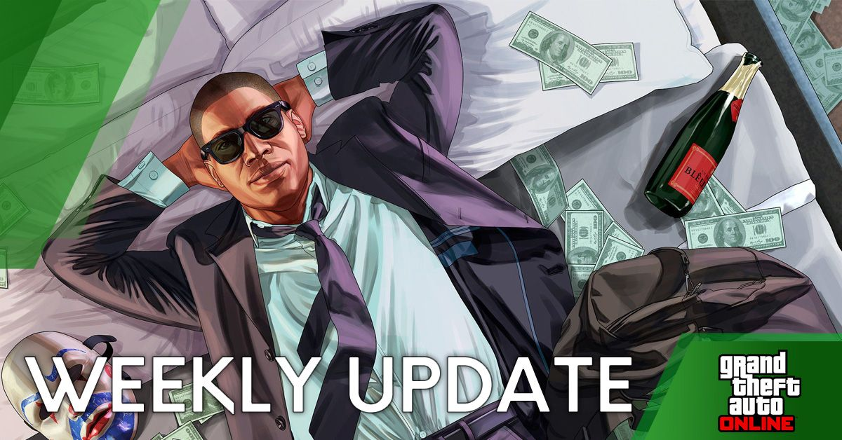 Gta 5 Online Weekly Update 25th February Time Day Discounts Events Podium Vehicle Free Cash