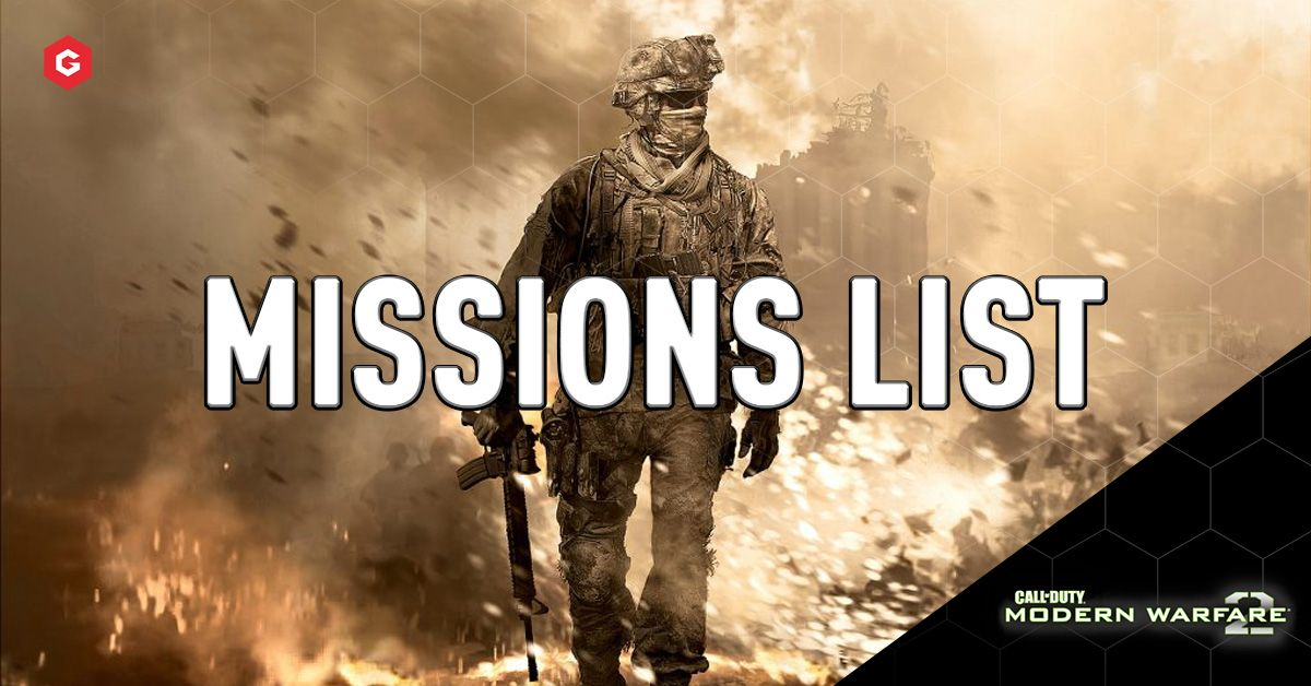 Mw2 Campaign Remastered Missions List Bonus And Cancelled Levels
