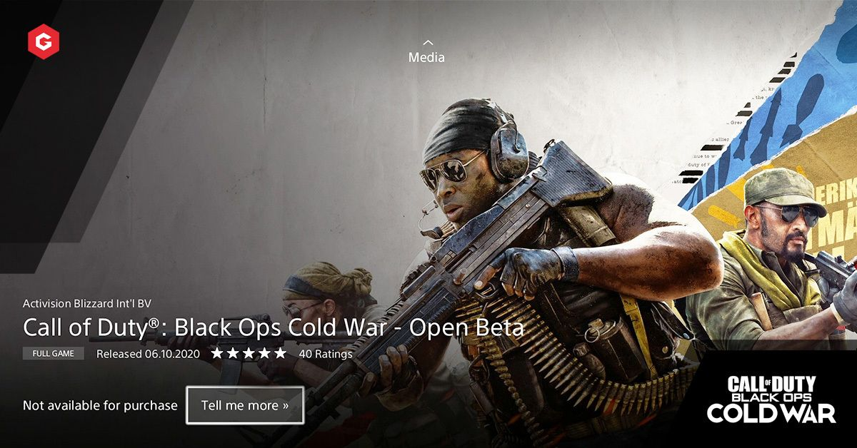 Black Ops Cold War Beta Pre Load Is Now Available On Ps4 Release Date Times And