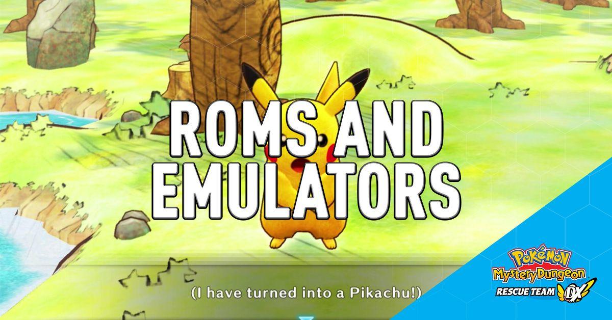 Pokemon Mystery Dungeon Dx Game Rom And Yuzu Emulator