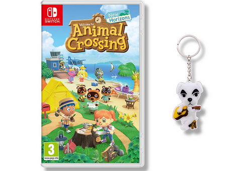 animal crossing new horizons kk slider keyring