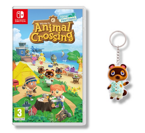 animal crossing new horizons tom nook keyring