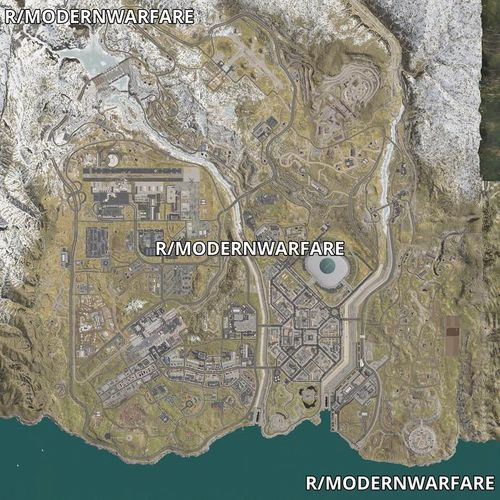 modern warfare battle royale map