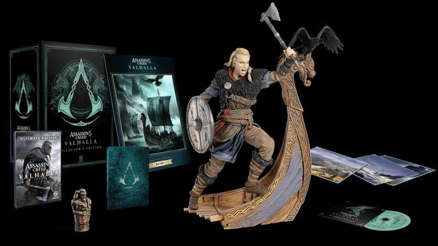 assassins creed valhalla collectors edition statue