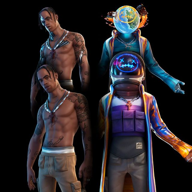 The Travis Scott Astronomical event hits Fortnite with the v12.41 update.
