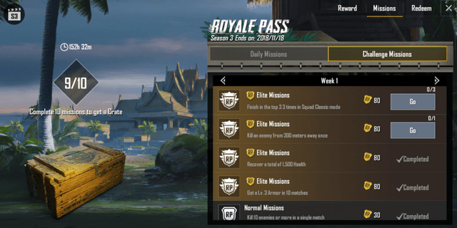 We'd like more interesting challenges in the PUBG Mobile Season 13 Battle Pass.