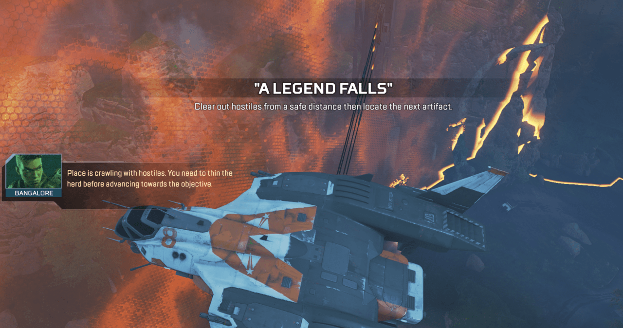 Apex Legends Broken Ghost Hunt 2 A Legend Falls