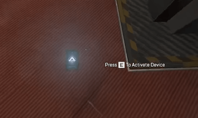 Look for this tiny tablet on the floor for the Teaser to Apex Legends Season 5.
