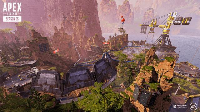Apex Legends map updates