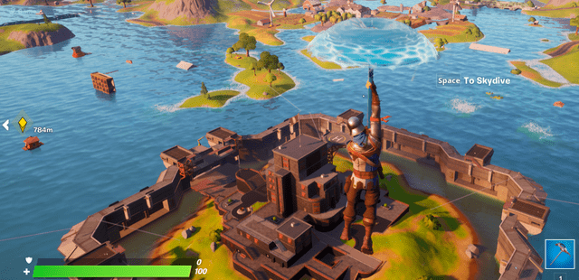 Fortnite Chapter 2 Season 3 The Authority location guide.