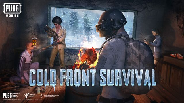 Branches and chicken dinners will be key to keeping your body temperature up in PUBG Mobile's new mode Cold Front Survival.