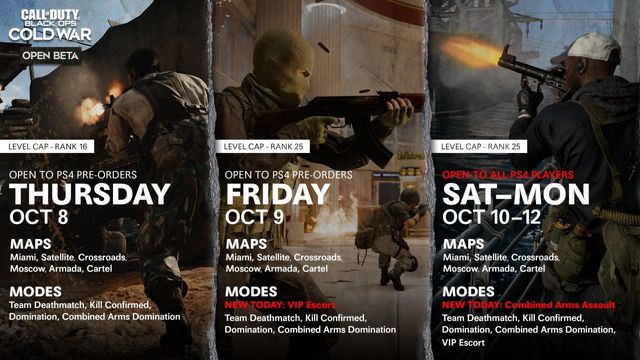 Black Ops Cold War Beta Weekend 2 Day 2 Live Updates Patch Notes Roadmap How To Get A Beta Code Weapons Maps Modes And Everything We Know