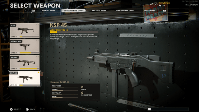 KSP 45 Black Ops Cold War