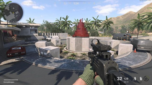 Raid Statue Black Ops Cold War